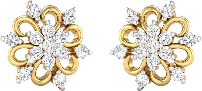8164bada4c9ff Flipkart.com - Buy AMANTRAN Gorgeous Earrings In Silver Yellow ...