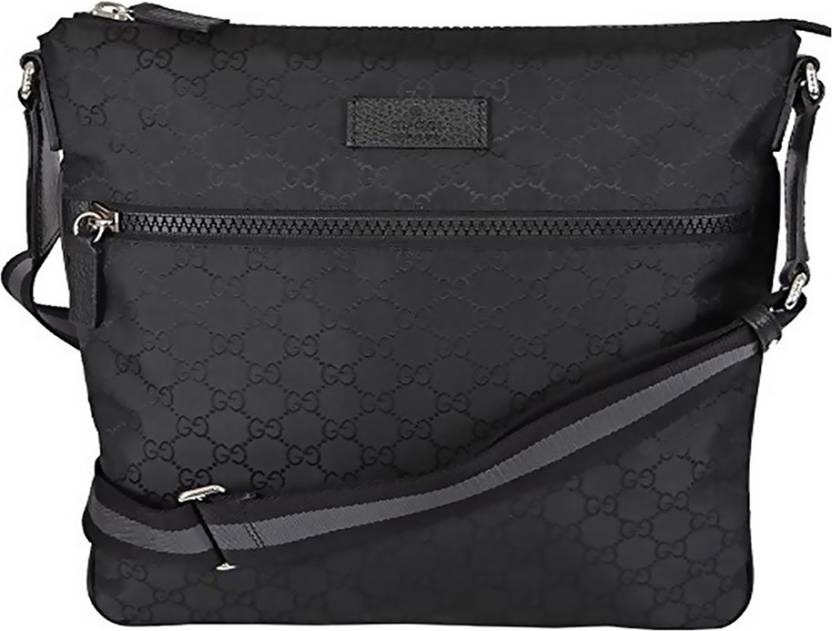 huge selection of 6b0ad 4958d Buy GUCCI Sling Bag Black Online @ Best Price in India ...