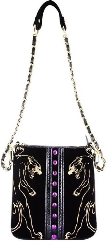 Buy Christian Audigier Sling Bag Purple Online   Best Price in India ... 9f98fa2c612ed