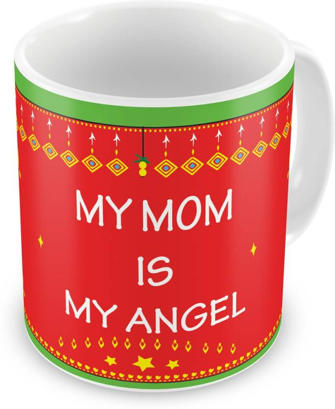 Indigifts Decorative Gift Items My Mom Angel Mothers Day For Mummy Mother In Law Grandmom Birthday