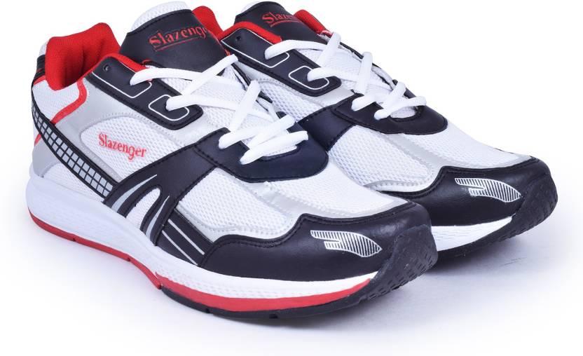 35753545d8 Slazenger Frost Running Shoes For Men - Buy White/Red/Black Color ...