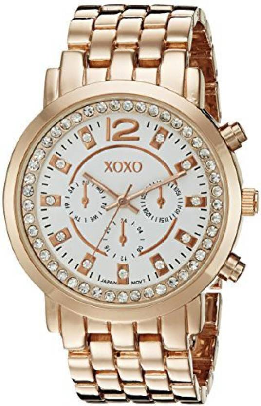 White20862 Women's Xoxo Quartz Display Analog Xo5821 dQroeBWECx