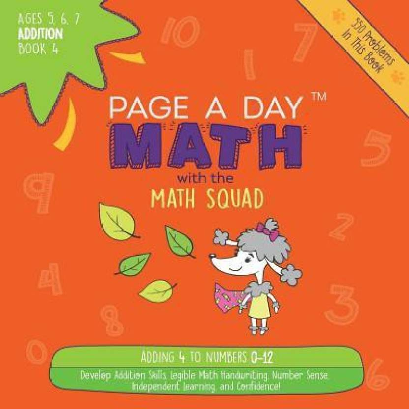 Page a Day Math Addition Book 4 - Buy Page a Day Math