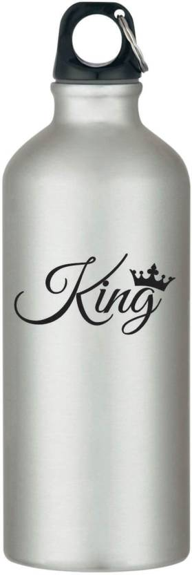 Giftsmate Birthday Gifts For Husband King Stainless Steel Sipper Water Bottle Boyfriend Gym
