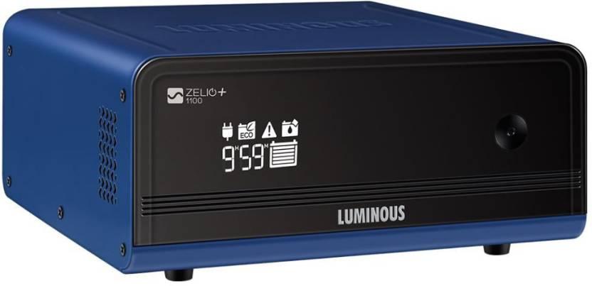Luminous Zelio 1100 Home Ups 900va Pure Sine Wave Inverter Price In