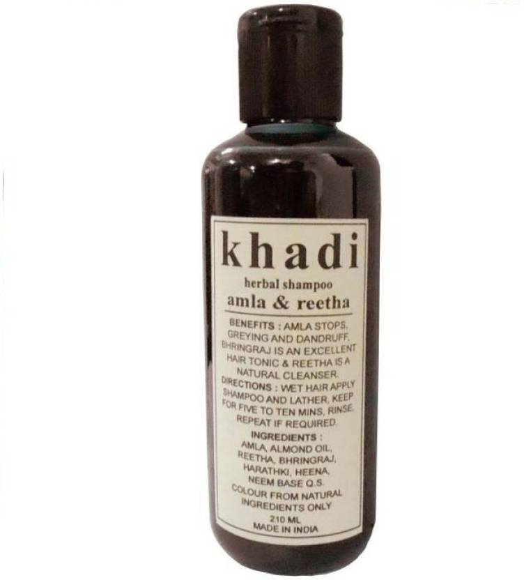 Khadi Henna Tulsi Shampoo 210 Ml Pack Of 1 Price In India Buy