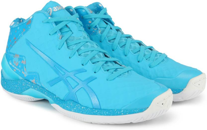 Asics Gel-burst 21 Ge Hi Aqua Island Blue Men Basketball Shoes Tbf30g-3941 Men's Shoes Clothing, Shoes & Accessories