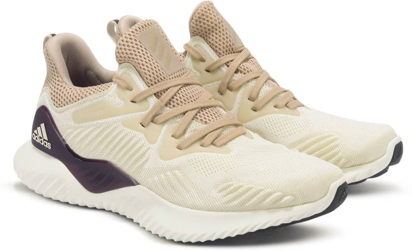 46d8cebf8 ADIDAS ALPHABOUNCE BEYOND W Running Shoes For Women - Buy Beige ...