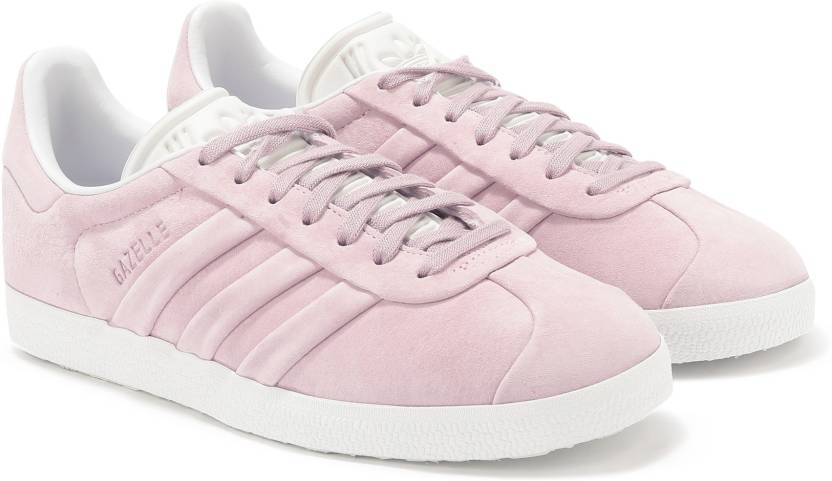 separation shoes b0fa3 2d02a ADIDAS ORIGINALS GAZELLE STITCH AND TURN W Sneakers For Women (Pink)