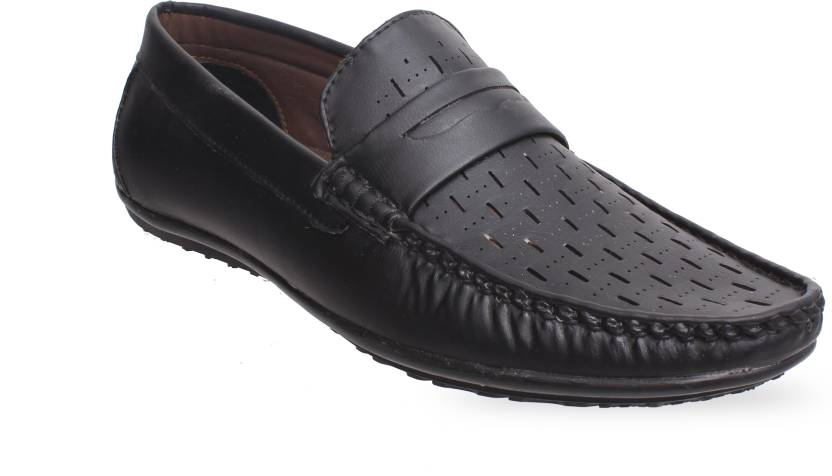 8c2237aa4fb53 Grayson Loafer Shoes Party Wear shoes For Men's Loafers For Men (Black)
