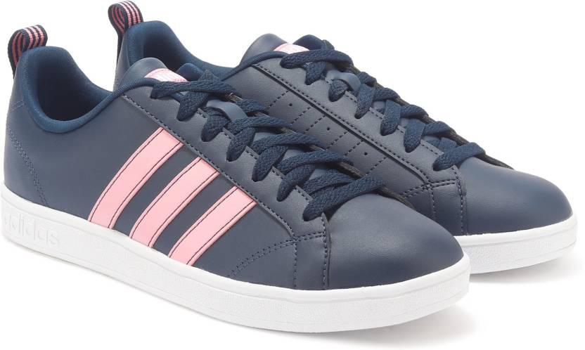33784fa70a8b7f ADIDAS VS ADVANTAGE Tennis Shoes For Women - Buy Blue Color ADIDAS ...