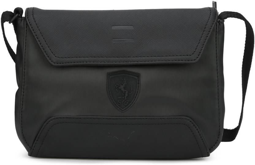 cfddf6f169 Puma Women Casual Black PU Shoulder Bag Puma Black - Price in India ...