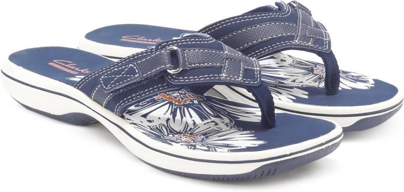 56974a2dca3 Clarks Brinkley Sea Flip Flops - Buy NAVY Color Clarks Brinkley Sea Flip  Flops Online at Best Price - Shop Online for Footwears in India