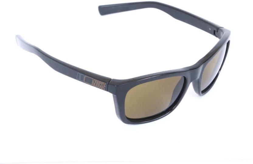 d0718911d0 Buy Nike Rectangular Sunglasses Yellow For Men   Women Online   Best ...
