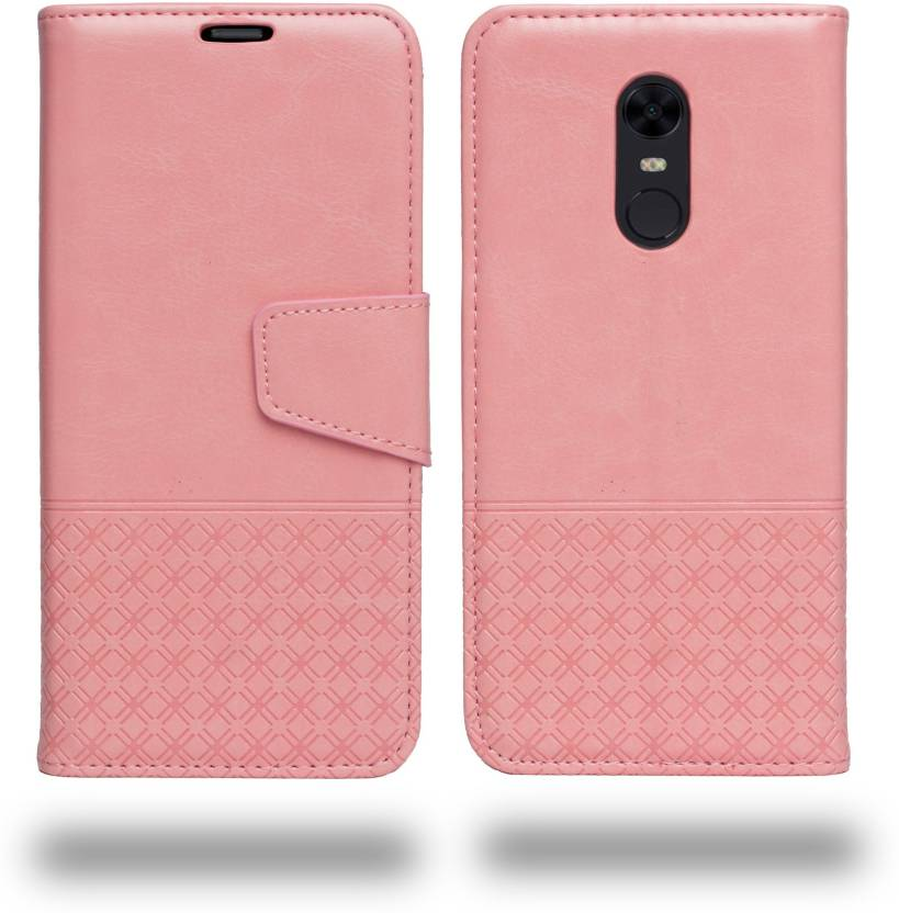 on sale 1c239 44b6f Ceego Flip Cover for Mi Redmi Note 5