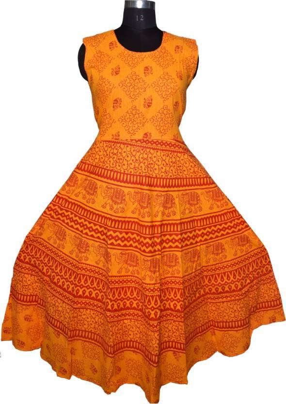 028db12f Eagle Eye Outfitters Women's Maxi Orange Dress