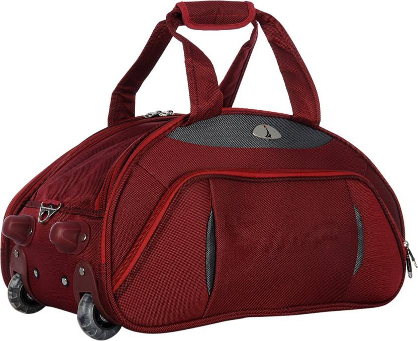 59328c0f46 Adonai 24DUFRED Duffel Strolley Bag Red24 - Price in India ...