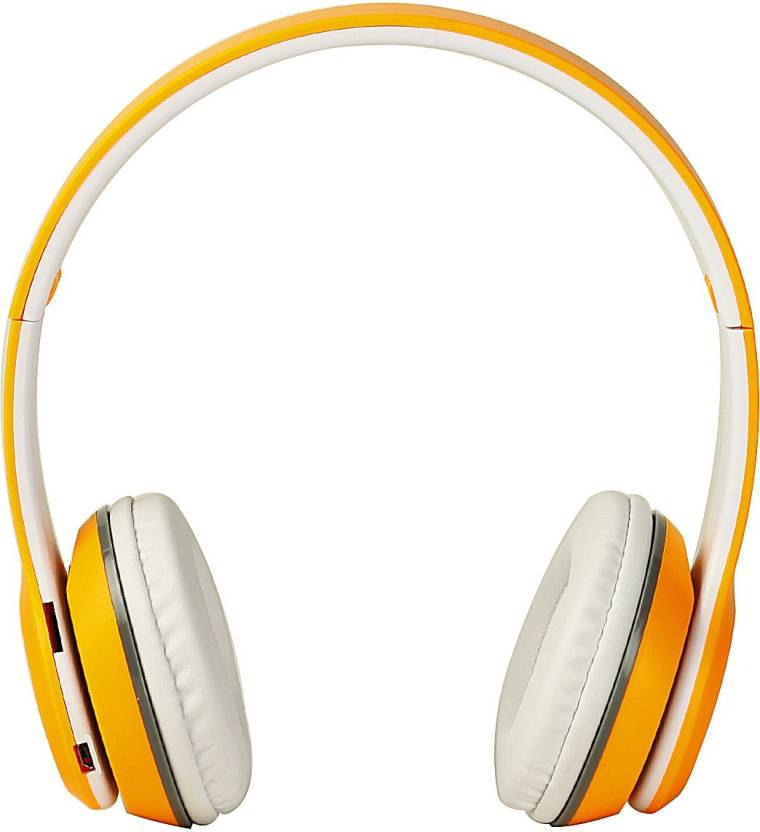 0f1977e0f57 OUTSMART B460 Earphone Sports Wireless Bluetooth Headphones with Mic and TF  Card Slot, FM Support and Equalizer Function Bluetooth Headset with Mic  (Orange, ...