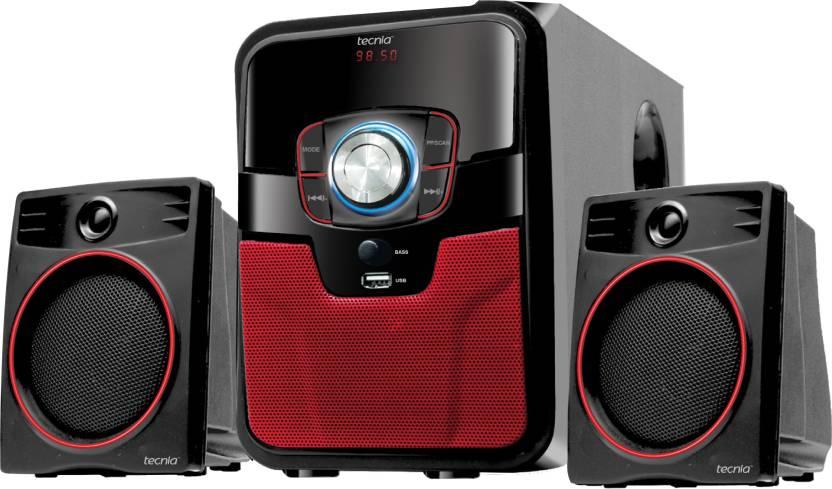 180f06cc6 TECNIA Swag 2.1 Channel Bluetooth Speaker System 2.1 Home Cinema (USB)