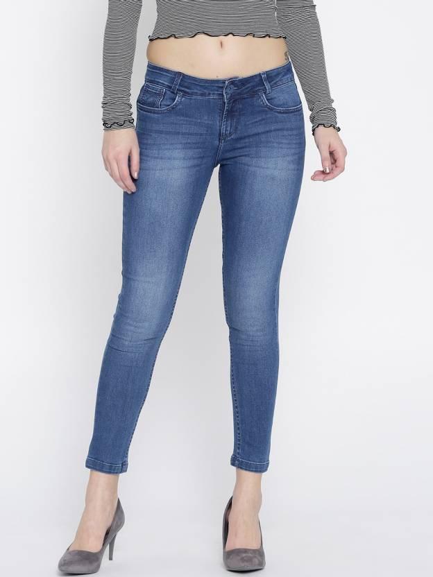 a83e7b73f1cd7 Xpose Slim Women Blue Jeans - Buy Blue-1 Xpose Slim Women Blue Jeans Online  at Best Prices in India   Flipkart.com
