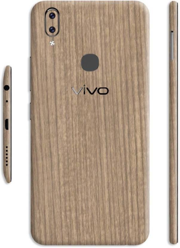 quality design a1260 d9535 Crystal Coat Light Wood Back & Side Skin/Sticker Vivo V9 Mobile Skin ...