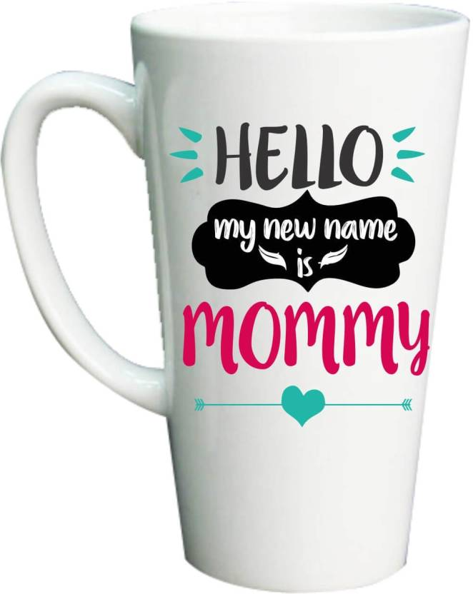 Giftsmate First Mothers Day New Mom Gifts, Hello my new name is
