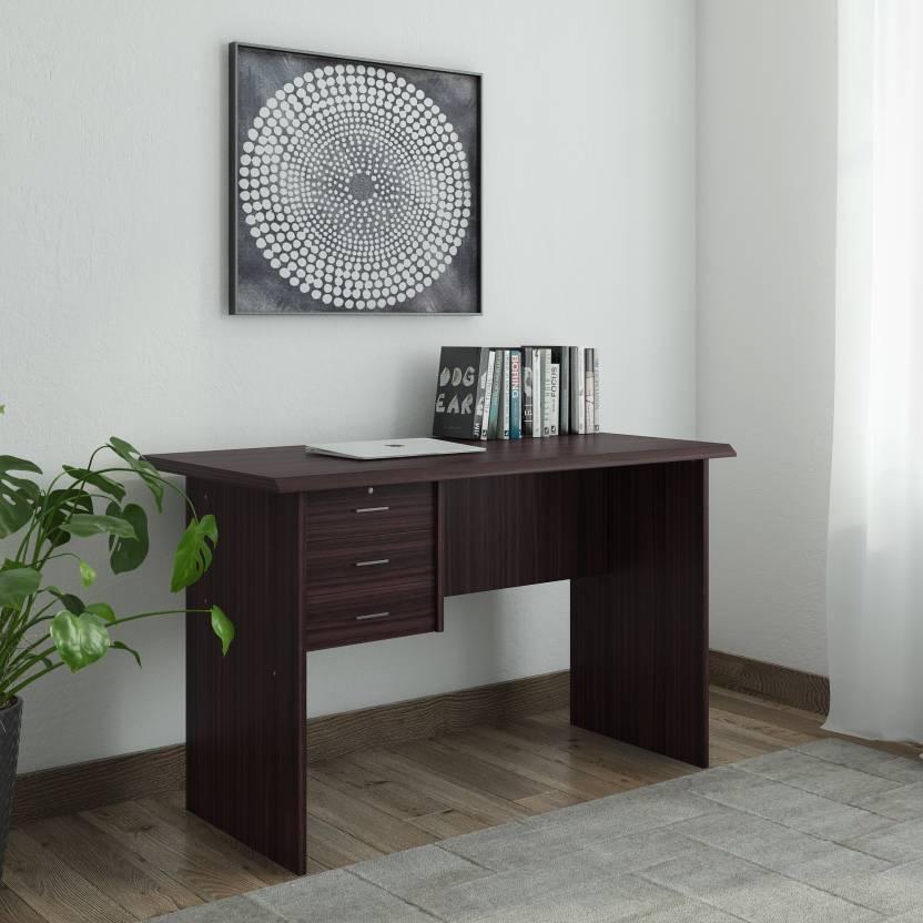 Royaloak Bell Engineered Wood Office Table