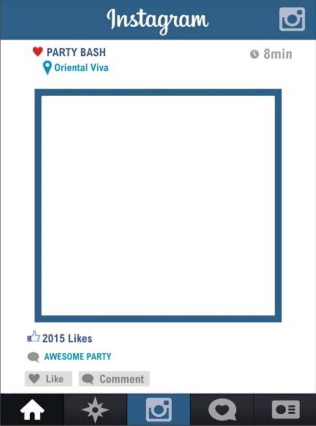 Funcart Instagram Photo Booth Board Price in India - Buy Funcart