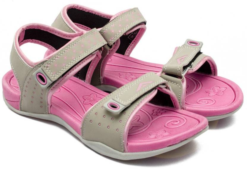 f7e14ed6799 Asian Women Grey Pink Sports Sandals - Buy Asian Women Grey Pink Sports  Sandals Online at Best Price - Shop Online for Footwears in India