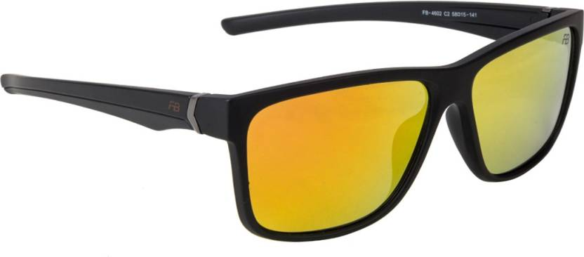 a074d65a16f8 Buy Funky Boys Wayfarer Sunglasses Red For Men Online @ Best Prices ...
