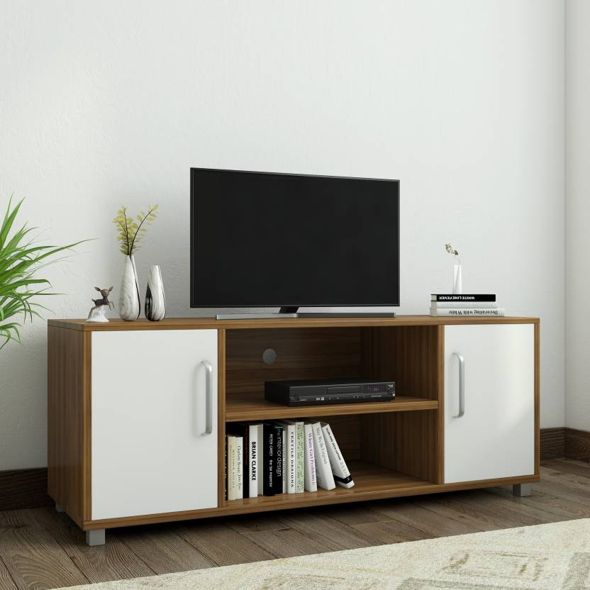 1a04dbb5f Spacewood Modern Engineered Wood TV Entertainment Unit (Finish Color - Brown )