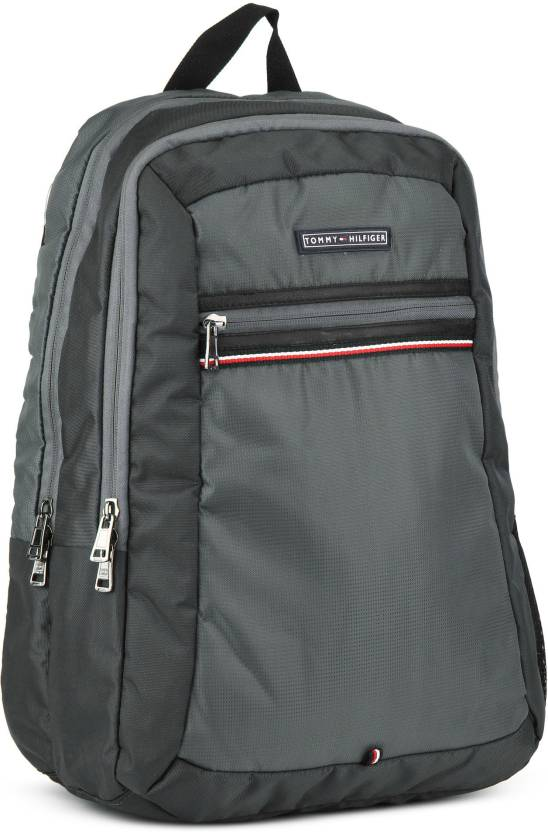 0af2a17f0 Tommy Hilfiger ROSSII 23 L Backpack DARK GREY - Price in India ...