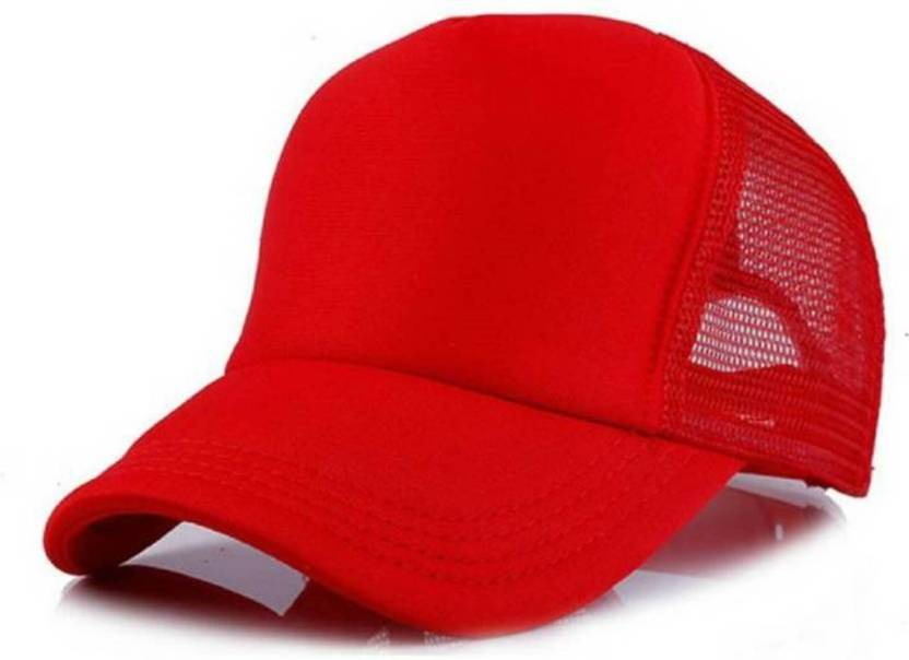 99cab499 Babji Awesome Looks Red Netted Mesh baseball Cap - Buy Babji Awesome Looks Red  Netted Mesh baseball Cap Online at Best Prices in India | Flipkart.com