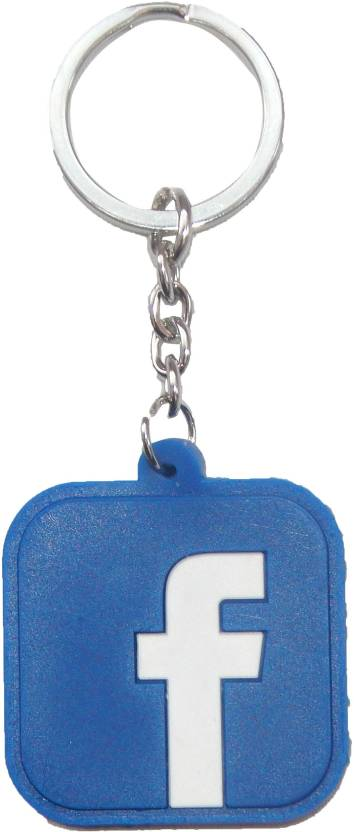 NPRC Beautiful Facebook For Car Bike Bags Locking Key Chain