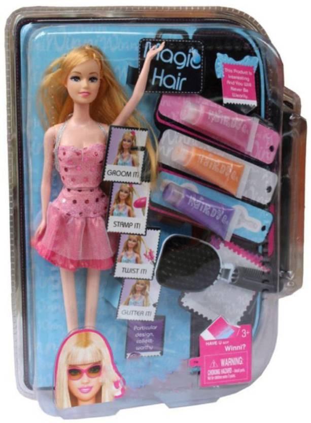 Grab Offers Hair Tastic Magic Hair Colour Design Salon Doll With