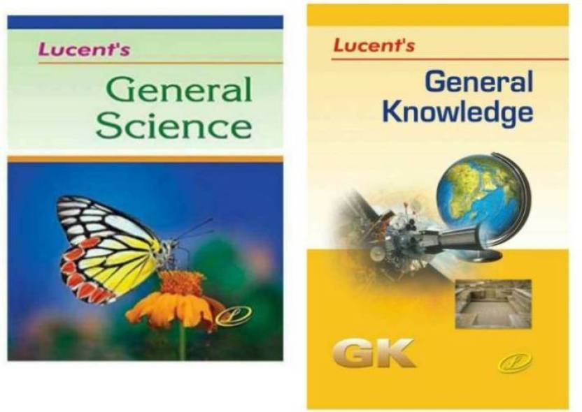 Lucent General Knowledge Book And Lucent General Science