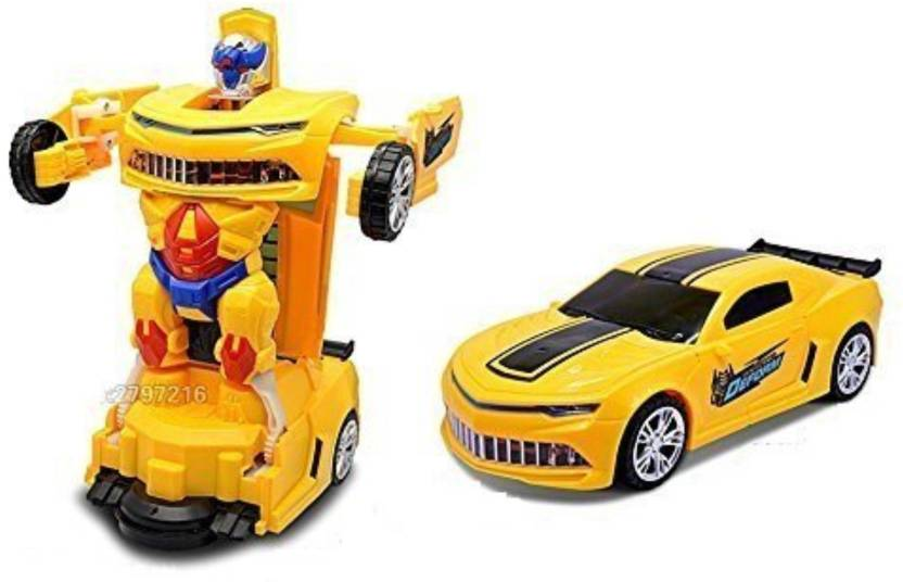 Zest 4 Toyz Robot To Car Converting Transformer Toy For Kids