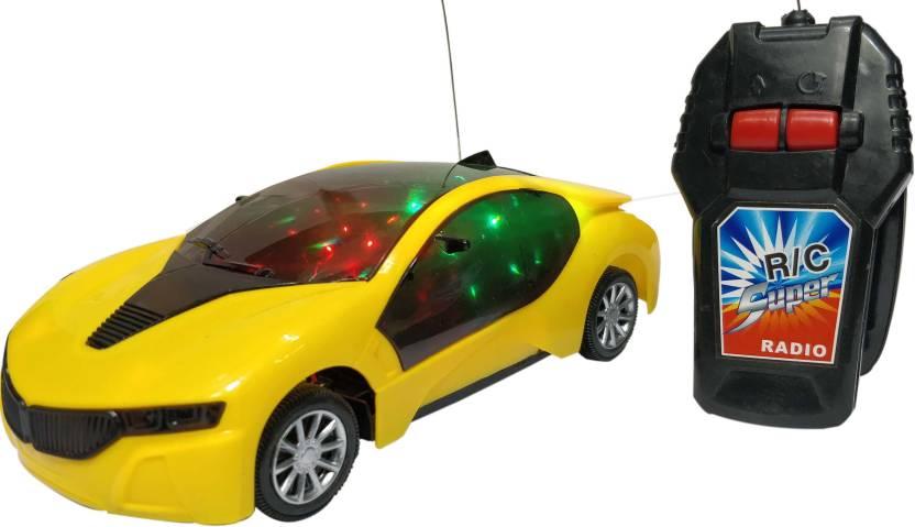 Wishkart BMW I8 Radio Control 3D Lightning Fast Modern Car Multicolor  Wishkart Remote Control Toys