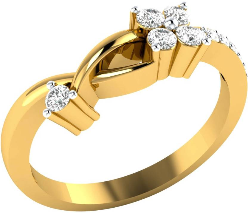 Animas Jewels New Style Sterling Silver Cubic Zirconia Yellow Gold