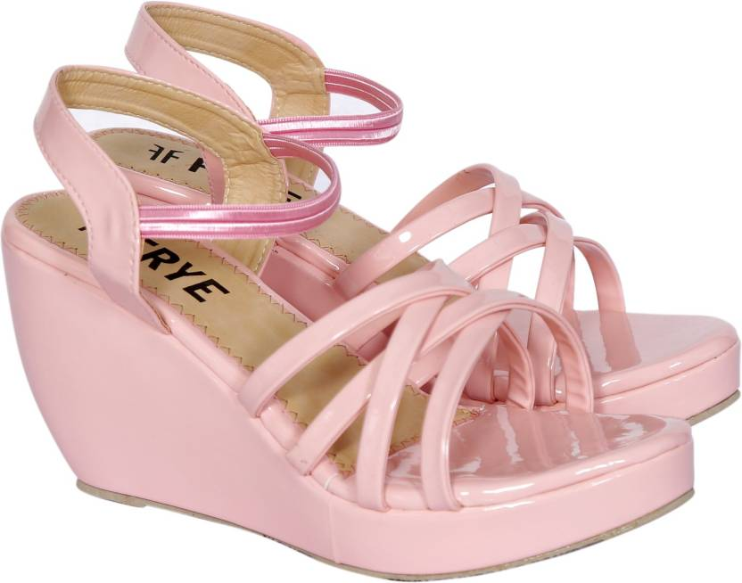 dd0f0aeaa94c FRYE Women PINK Wedges - Buy FRYE Women PINK Wedges Online at Best Price - Shop  Online for Footwears in India