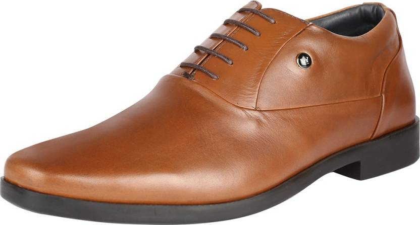 d22a8105d Louis Philippe Louis Philippe Tan Formal Shoes Lace Up For Men - Buy ...