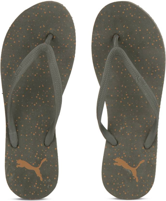 5d82609e356 Puma First Flip Wns Dots IDP Slippers - Buy Olive Night-Inca Gold Color Puma  First Flip Wns Dots IDP Slippers Online at Best Price - Shop Online for ...