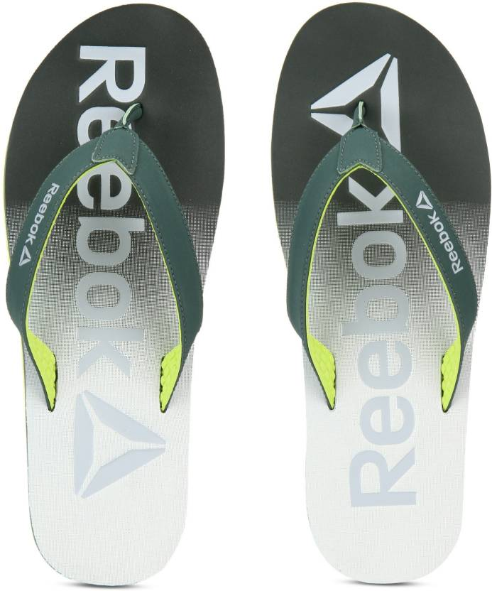 65ce952ab REEBOK EMBOSSED FLIP Flip Flops - Buy CHALK GREEN HIGHVIS GREEN Color REEBOK  EMBOSSED FLIP Flip Flops Online at Best Price - Shop Online for Footwears  in ...