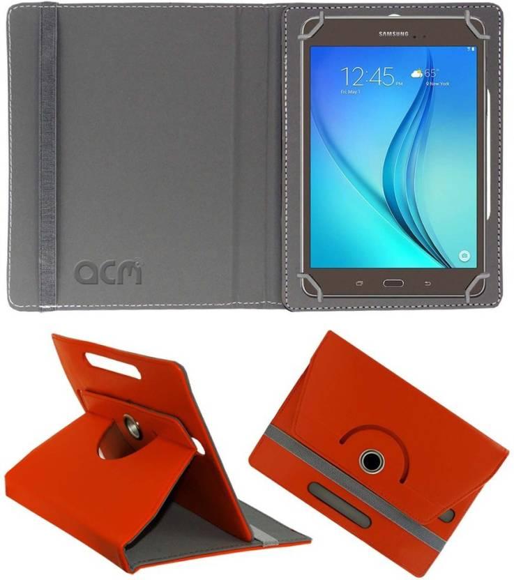 ACM Book Cover for Samsung Galaxy Tab A T355y Orange