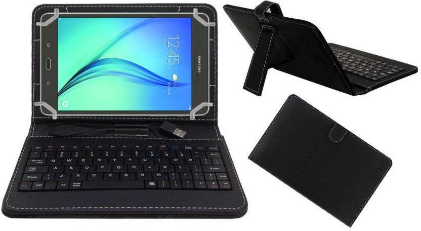 ACM Keyboard Case for Samsung Tab A Sm T355yzwa Black