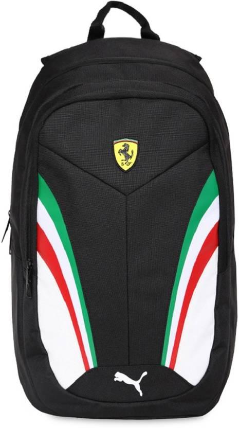 ca26f8ca850c Puma Ferrari Fanwear Unisex 26 L Backpack Black - Price in India ...