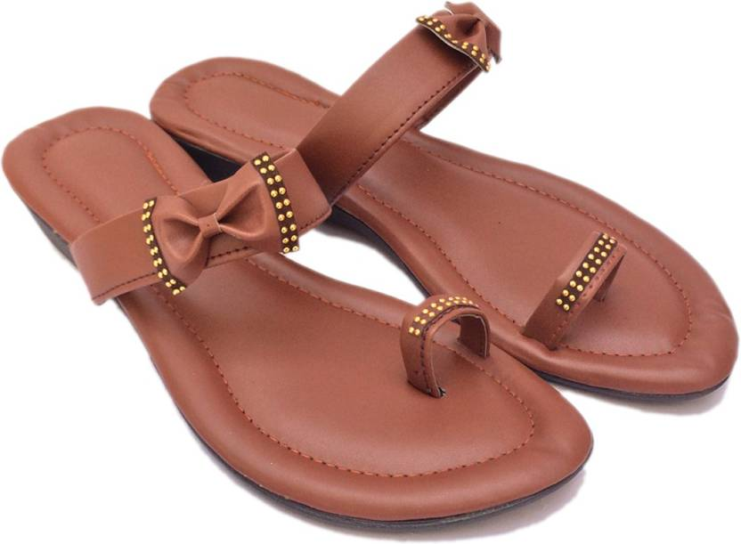 3e0664e395c0 Pawadi Women Brown Flats - Buy Brown Color Pawadi Women Brown Flats Online  at Best Price - Shop Online for Footwears in India