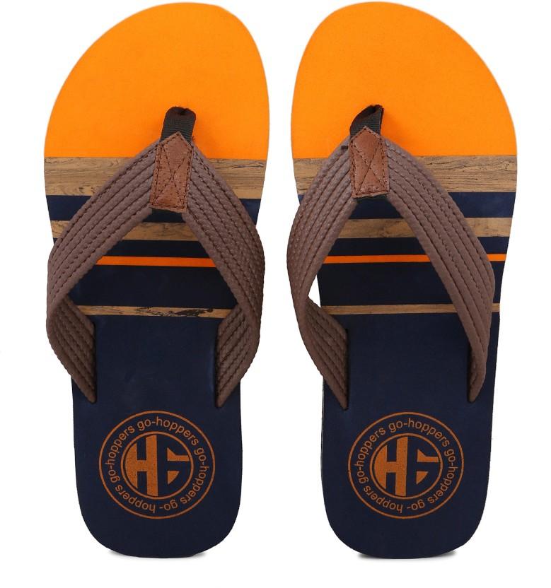 Men in orange thong