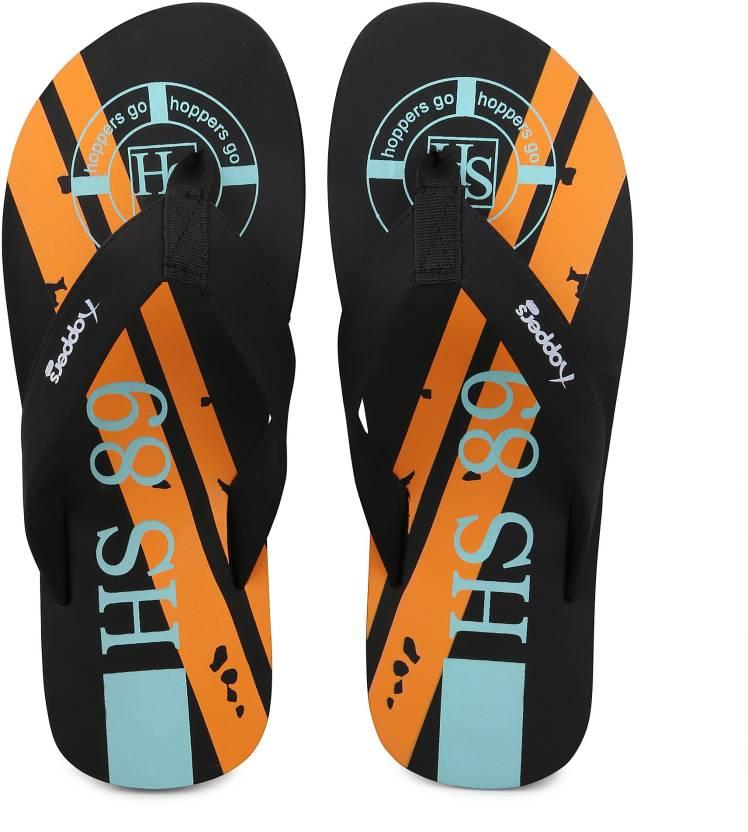 459705588965 Hoppers Men s Printed Thong- Style Flip- Flops