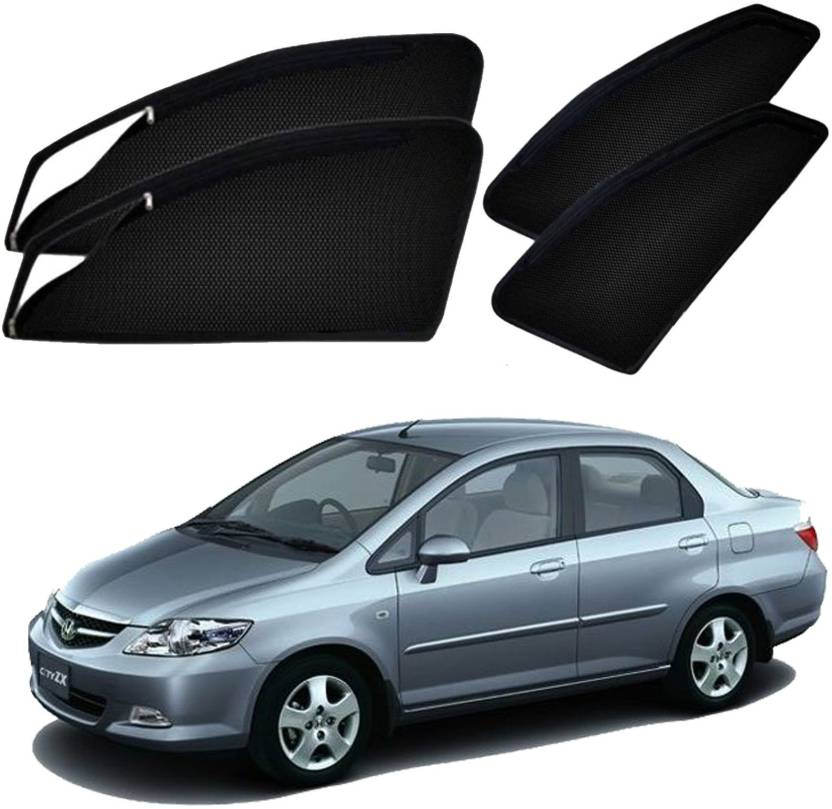 Uk Blue Side Window Sun Shade For Honda City Zx Price In India Buy